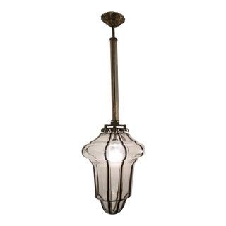 Circa 1950 Pair Murano Lanterns For Sale