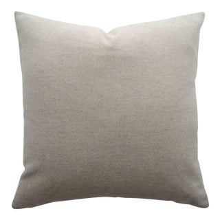 Italian Cream Sustainable Wool Pillow
