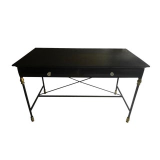 Iron Base Empire Style Desk For Sale