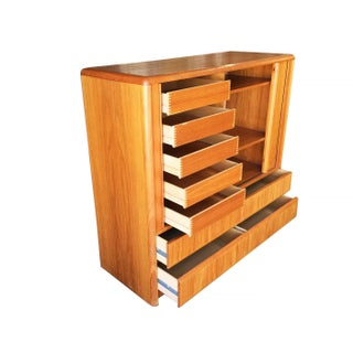 Side Rolling Front Wardrobe With Media Center, Chest of Drawers Preview