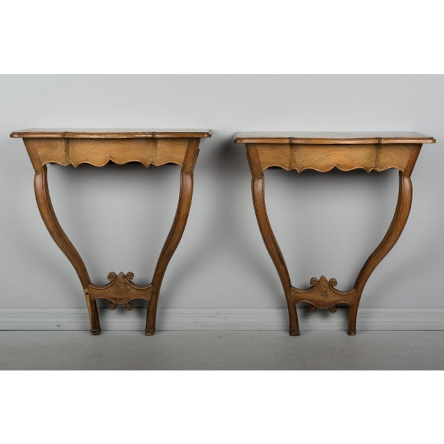 Paint 18th Century French Console Tables - a Pair For Sale - Image 7 of 10
