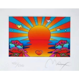Peter Max Protect our Children I 2002 For Sale