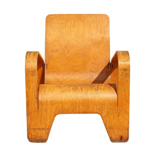 """""""Lawo"""" Lounge Chair by Han Pieck For Sale In Los Angeles - Image 6 of 10"""