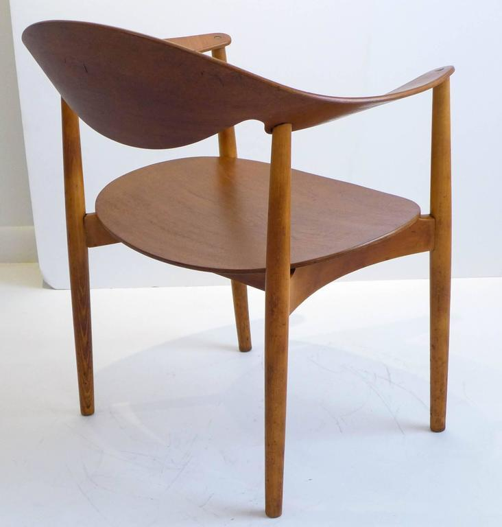 Mid Century Modern Metropolitan Chair By Madsen And Larsen For Sale   Image  3 Of