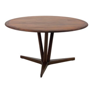 1960s Vintage Danish Rosewood Coffee Table For Sale