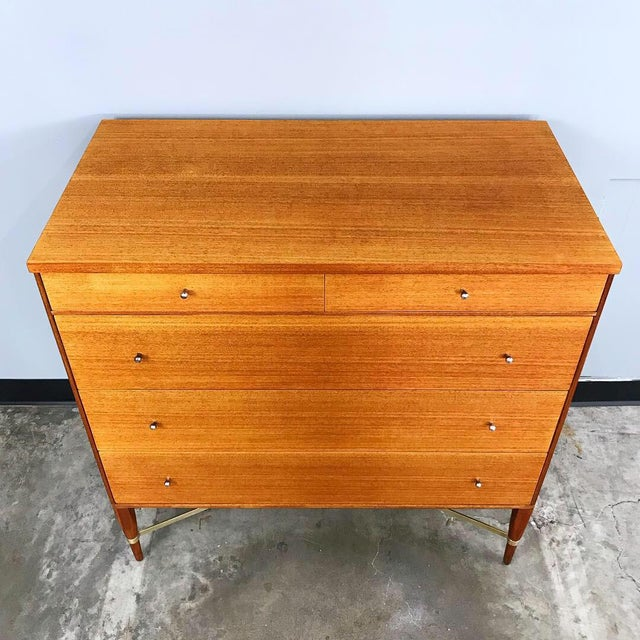 1950s Early & Rare Mahogany Dresser by Paul McCobb for Calvin For Sale - Image 5 of 11
