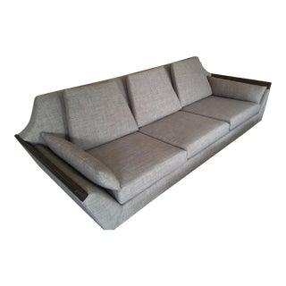 Mid-Century Modern Gondola Style Sofa
