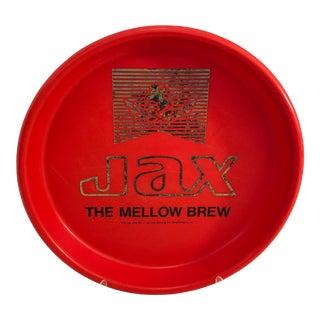 Vintage Jax Beer New Orleans Red Serving Tray