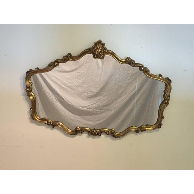 Hollywood Regency Gilt Mirror - Image 2 of 7