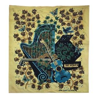 Picart Le Doux Cotton Tapestry For Sale