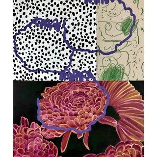 """Floral Arrangement N.2"" Original Painting by Nadia Jaber For Sale"
