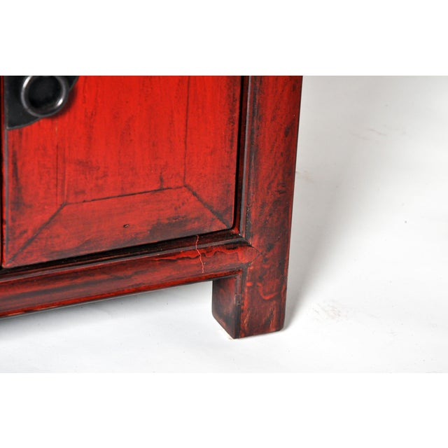 Late 19th Century Chinese Bed Side Chests - a Pair For Sale - Image 11 of 11