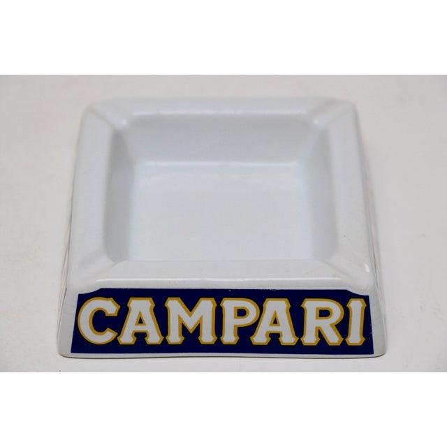 Italian Porcelain Campari Ashtray - Image 4 of 7