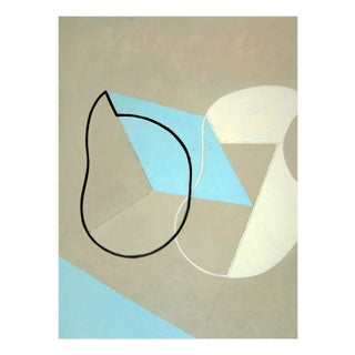 "Jeremy Annear ""Breaking Contour (Blue Sand Forms)"", Painting For Sale"
