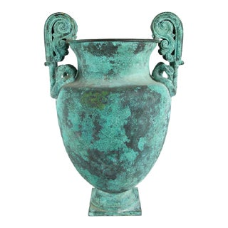 Neo Classical Bronze Urn For Sale