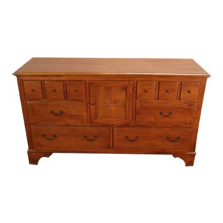 Ethan Allen Country Crossings Solid Maple Dresser For Sale