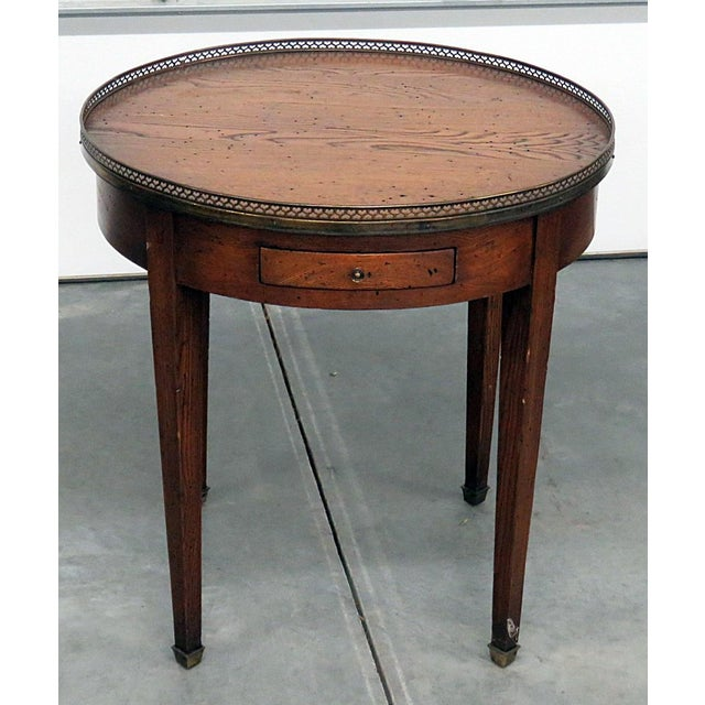Antique Louis XIV Style Bouillotte Table For Sale - Image 10 of 10