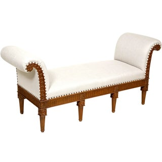 20th Century Chippendale Style Window Seat For Sale