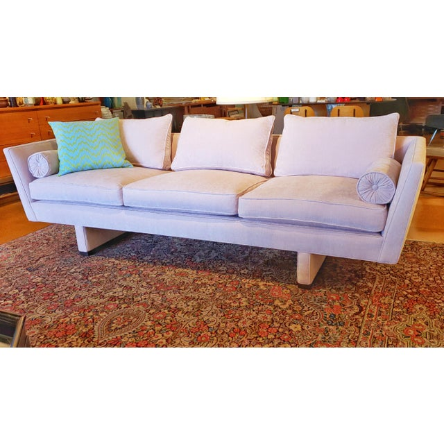 1950s Vintage Edward Wormley Sofa 5485 for Dunbar For Sale - Image 5 of 12