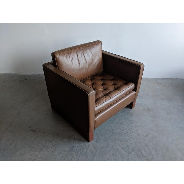Lounge chair designed by Mies van der Rohe for Knoll International, circa 1968. We bought this from an architect who...