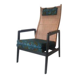 Vintage Bohemian Style Lounge Chair by P. Muntendam for Gebr. Jonkers