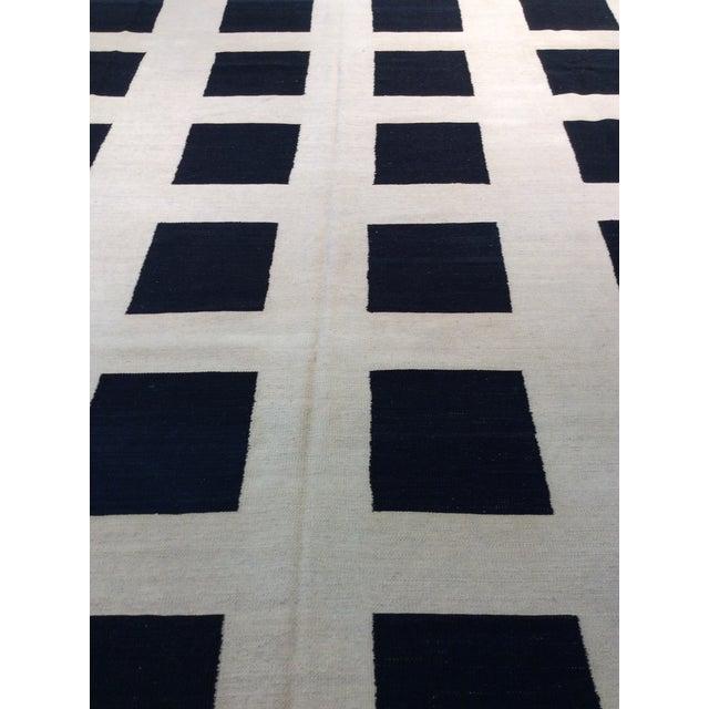 Pasargad Art-Deco Style Wool Kilim - 8′2″ × 11′3″ - Image 3 of 4