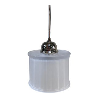 Minka-Laverty 1-Light Polished Nickel Mini Pendant Ceiling Light For Sale