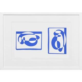 Josef Albers - Portfolio 2, Folder 2, Image 2 Framed Silkscreen For Sale