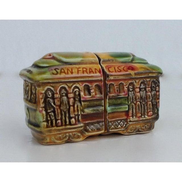 Vintage San Fransisco Cable Car Salt & Pepper Shakers - Image 2 of 11