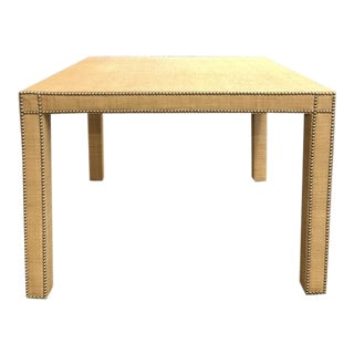 Century Furniture Fully Upholstered Game Table For Sale