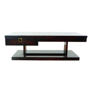 Mid-Century Modern Lane Wooden Coffee Table For Sale