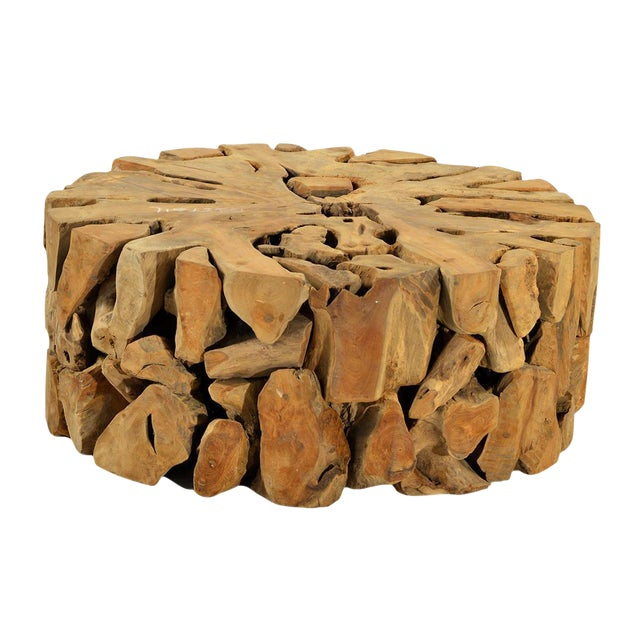 Root Coffee Table For Sale: Teak Wood Root Coffee Table