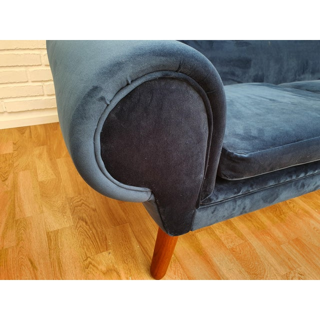 Danish Modern 1960s Vintage Kurt Østervig Danish 3 Seater Sofa For Sale - Image 3 of 13