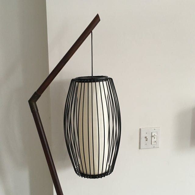 New York-Based Japanese Designer Floor Lamp - Image 5 of 8