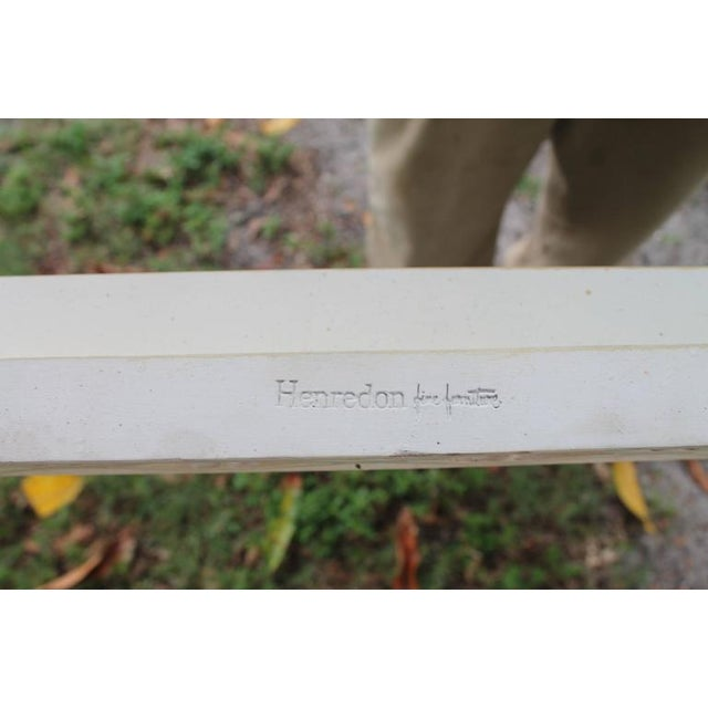 Henredon Chinoiserie Fretwork Console Table - Image 3 of 9