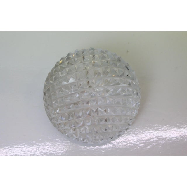 Contemporary Cut Glass Paperweight For Sale - Image 4 of 5