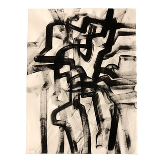 Original Contemporary Wayne Cunningham Abstract Painting For Sale