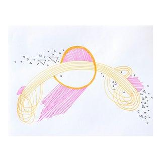 """Linda Colletta """"1991"""" Original Drawing"""