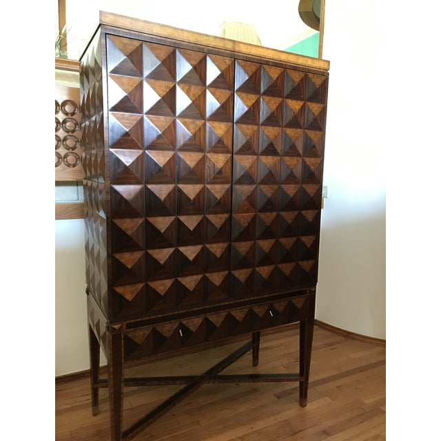 1990s Maitland Smith Armoire For Sale - Image 13 of 13