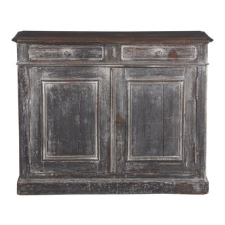 French Louis Philippe Style Painted Buffet, Early 1900s For Sale