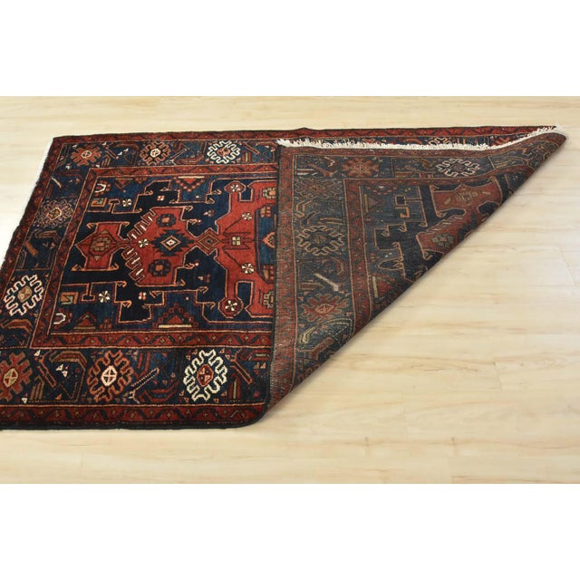 Vintage Persian Hamadan Rug - 4'6'' X 7' For Sale - Image 11 of 13
