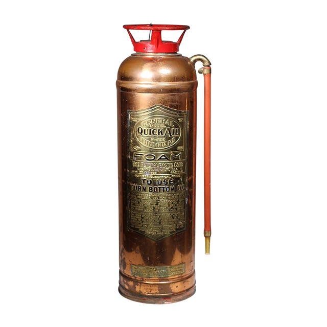 Brass and Copper Fire Extingusher - Image 1 of 3
