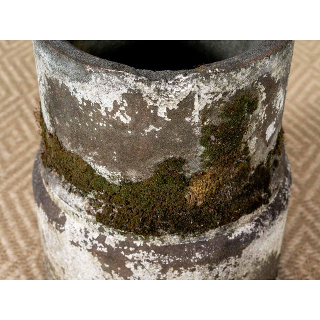 Vintage Moss Concrete Table Base For Sale - Image 4 of 6