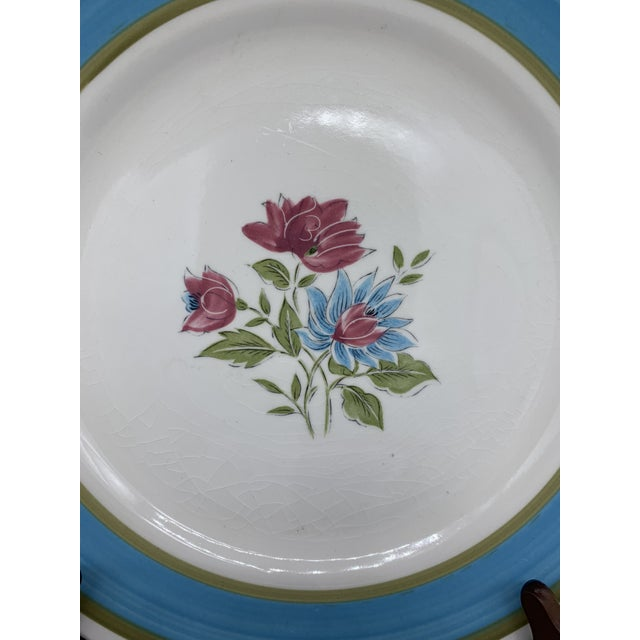 Japan's Blue Lagoon Chop Plate For Sale In Los Angeles - Image 6 of 9