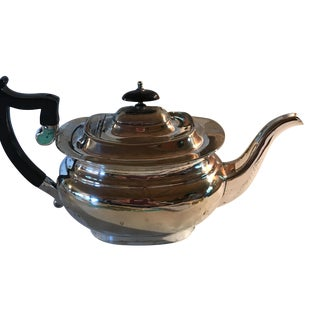 2 Pieces - English Sheffield Silver Coffeepot and Teapot For Sale