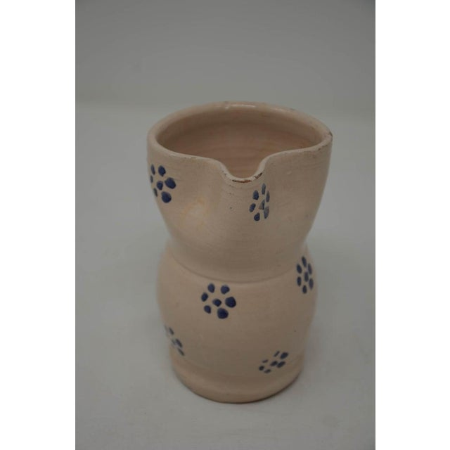 """Charming vintage Italian traditional pottery from Apulia """"Puglia"""". A beautiful region of southern Italy. Handmade painted..."""