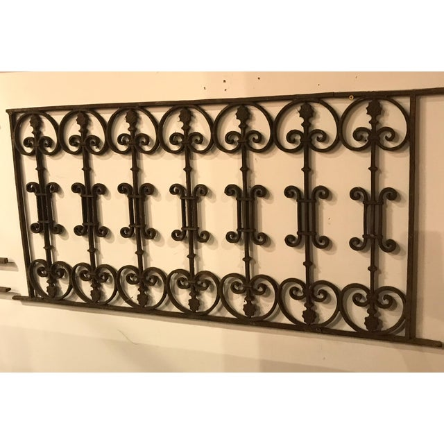 This antique French iron gate will add the finishing touch outside or in your home. The beautiful scroll work and weather...