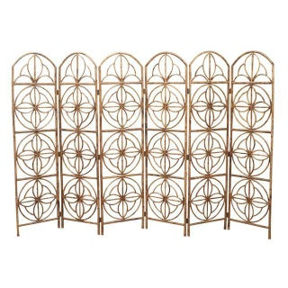 Vintage Hollywood Regency Bamboo Screen