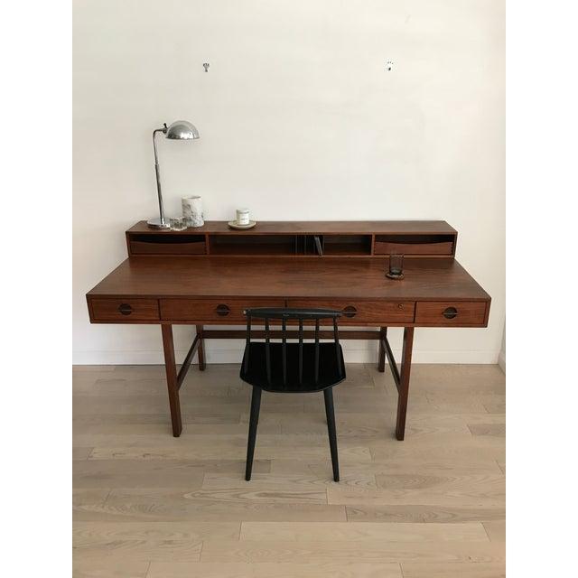 Peter Lovig Nielsen Rosewood Folding Dansk Danish Desk Circa 1965 - Image 4 of 11