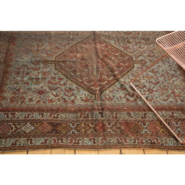 """1920s Vintage Shiraz Carpet - 6'10"""" X 9'9"""" For Sale - Image 5 of 10"""